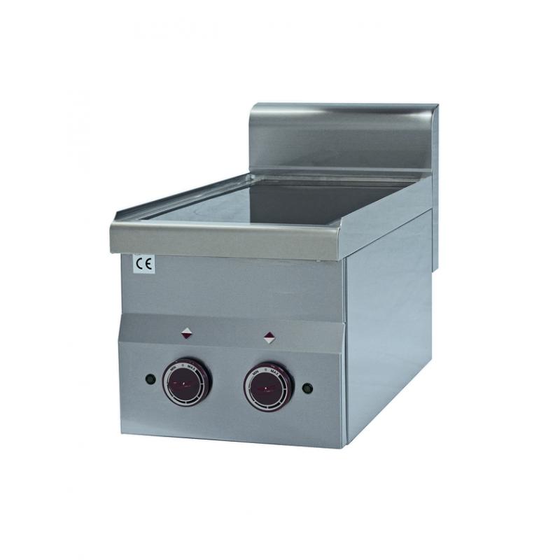 Cuisinière vitrocéramique profondeur 600 mm 2 plaques