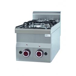 Cuisinière gaz Profondeur 600mm 2 feux
