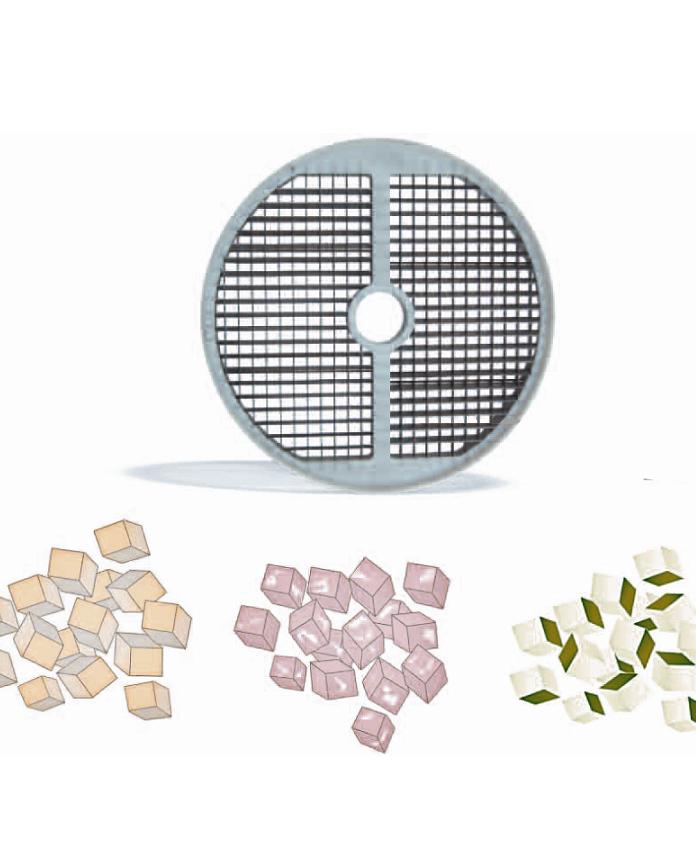 Grille cubes/macédoine, coupe légumes TVX