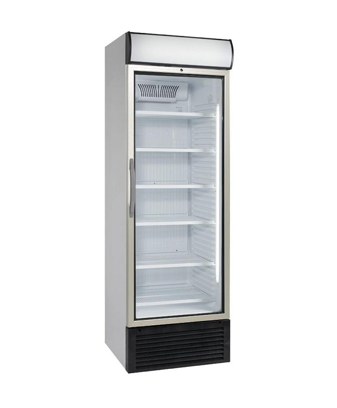 Vitrine à boisson froid ventilé 1 porte vitrée