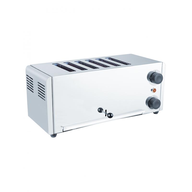 Grille pain toaster électrique 6 tranches