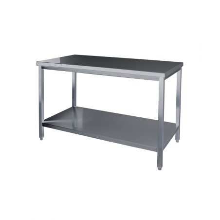 Table centrale inox