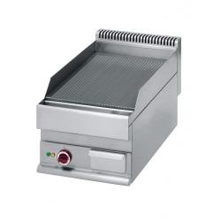 Plaque à snacker rainurée gamme Pro 650