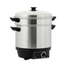 Cuit vapeur inox professionnel 15 litres
