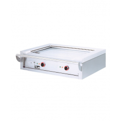 Teppanyaki électrique à poser 2 zones de chauffe