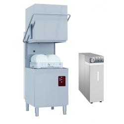 Lave-vaisselle professionnel avec osmoseur