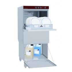 Lave-vaisselle professionnel avec soubassement fermé