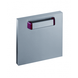 Porte inox optima 700 largeur 400mm