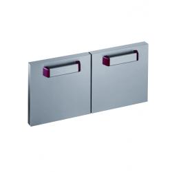 Kit de 2 portes soubassement Pro700