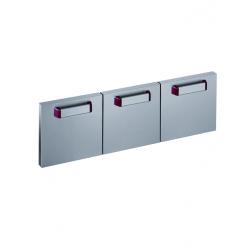 Kit de 3 portes pour soubassement