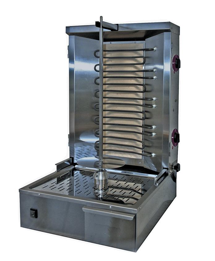 Appareil à kebab électrique professionnelle 35 kg