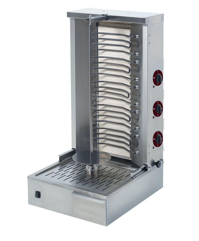 Appareil à kebab électrique professionnelle 55 kg