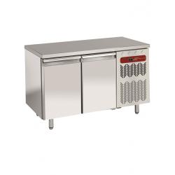 Table réfrigérée négative ventilée en 600x400 2 portes