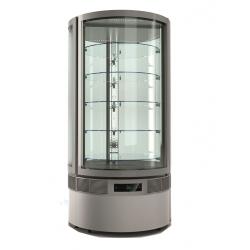 Vitrine réfrigérée cylindrique 5 niveaux