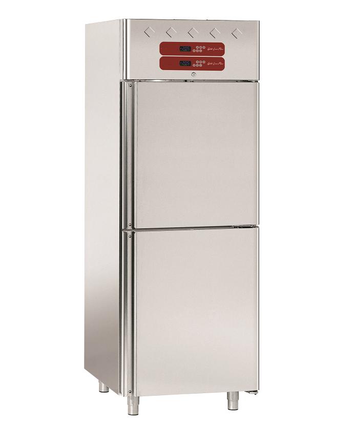 Armoire frigorifique surgelée et frigo inox