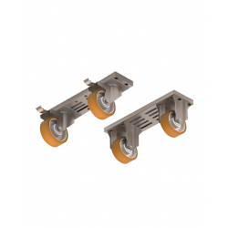 Kit 4 roues module 400