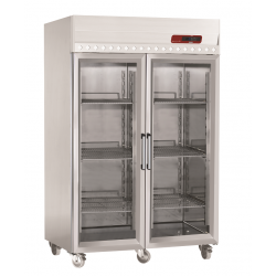 Armoire frigorifique 1400L porte vitrée
