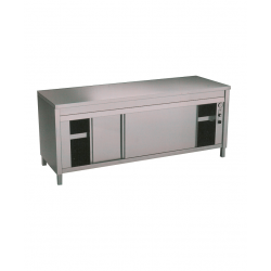 Table sur armoire chauffante 1000/1200/1400mm