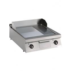 Plaque de cuisson électrique lisse/rainurée