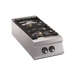 Plaque de cuisson au gaz 2 feux vifs