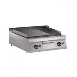 Plaque de cuisson gaz lisse/rainuré à poser