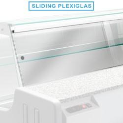 Portillon arrière pour comptoir vitrine réfrigéré