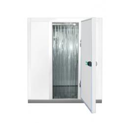 Porte à lanières pour chambre-froide