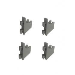Clips supports de grille pour vitrine MIC
