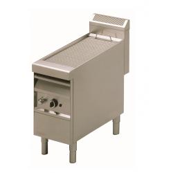 Grill-vapeur gaz professionnel largeur 420mm