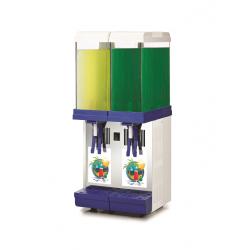 Distributeur de boissons réfrigérées automatique 2x9L
