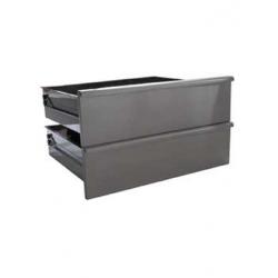 Bloc 2 tiroirs pour soubassement