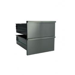 Kit 2 tiroirs pour soubassement ouvert