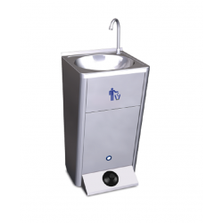 Lave-mains eau froide mobile