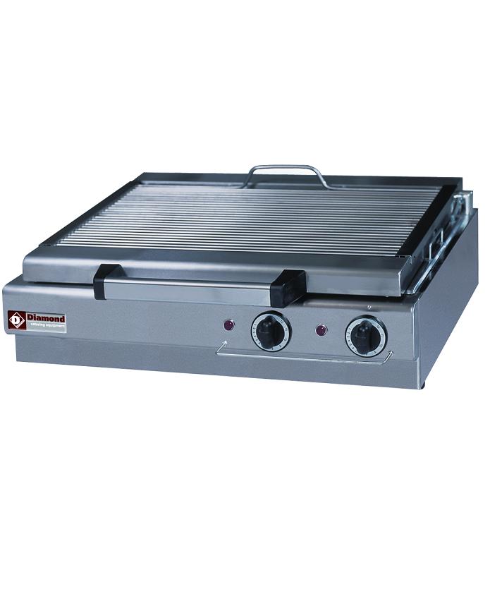 Grill-vapeur électrique double de table
