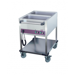 Chariot Bain-marie 2 bacs GN1/1
