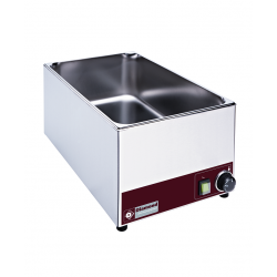 Bain marie de table professionnel inox