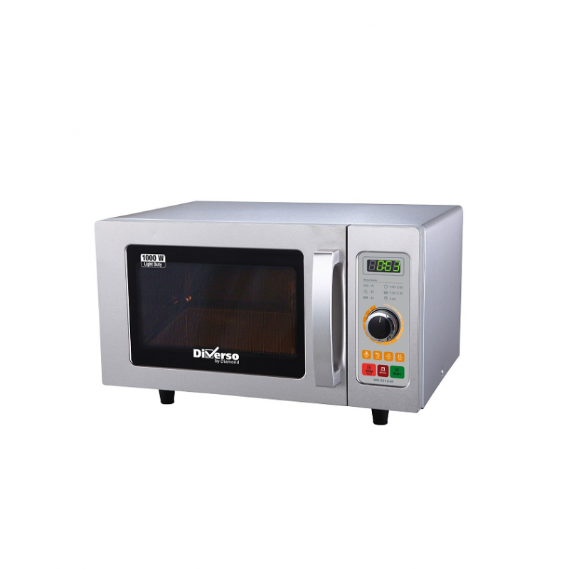Four micro-ondes professionnel inox 1000 w