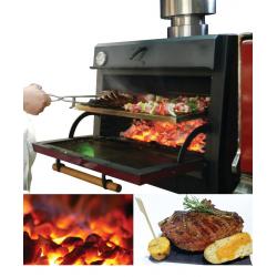 Four barbecue à charbon GN1/1 pour restauration