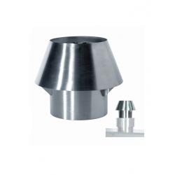 chapeau de cheminée inox réf CCX/120
