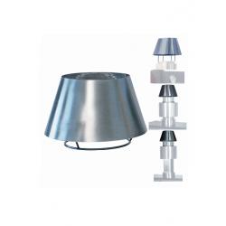 chapeau de cheminée inox réf CCX/ST