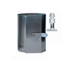 Régulateur de flux d'air externe pour cheminée