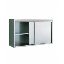 Armoire murale inox portes coulissantes