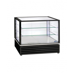Vitrine réfrigérée rectangle vitré à poser