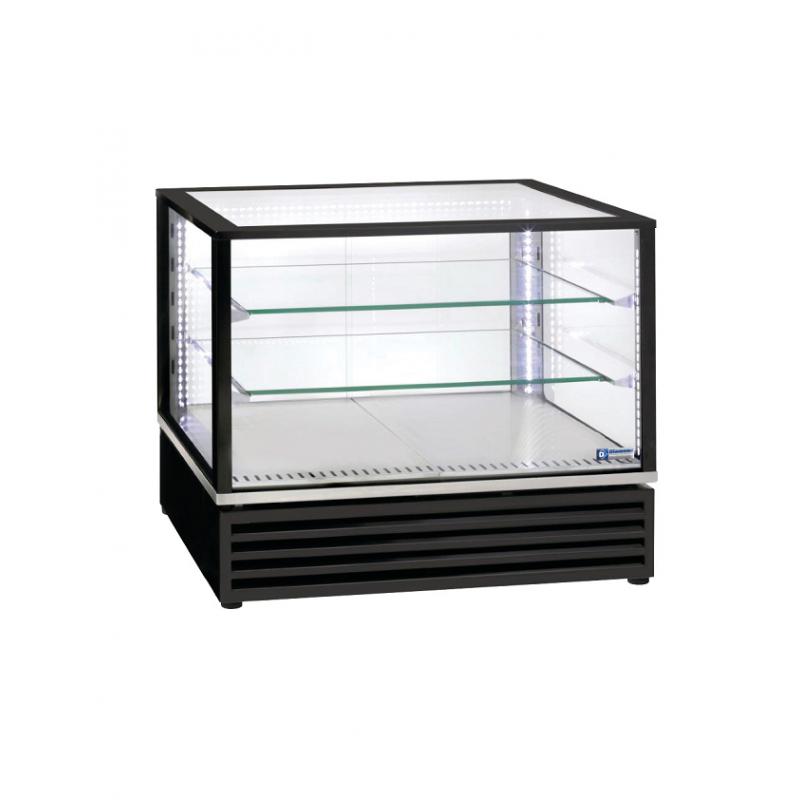 Vitrine réfrigérée rectangle vitré à poser