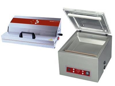 Machine sous-vide alimentaire professionnelle ou sous-videuse