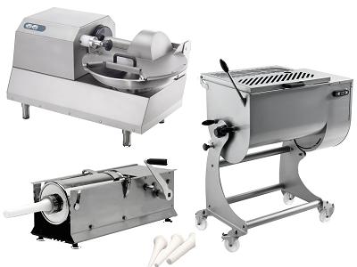 Poussoir, mélangeur ou cutter professionnel électrique ou manuel