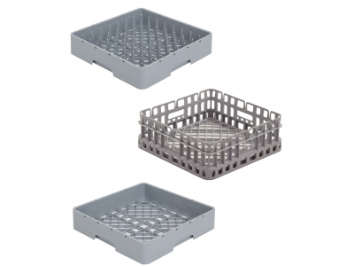 Panier pour lave-vaisselle ou lave-verre professionnel