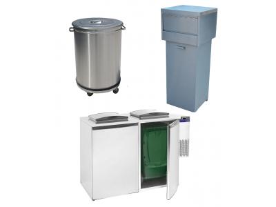 Poubelle professionnelle cuisine et frigo déchets