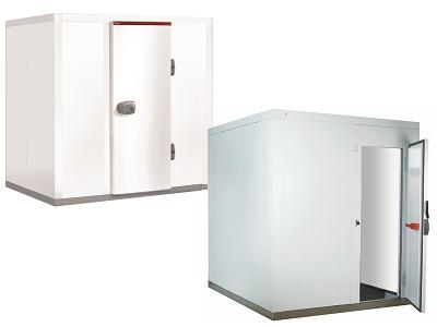 Chambre froide positive ou négative démontable ISO 80mm