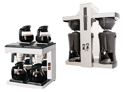 Cafetière, machine à café pour auberge et buvette de camping